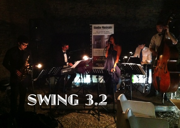 "Alessandro Paolini<br> ""3.2 swing band"""