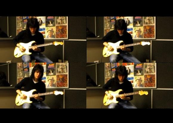 chitarra Fuga di Bach in SOL