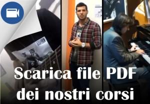 file PDF dei corsi